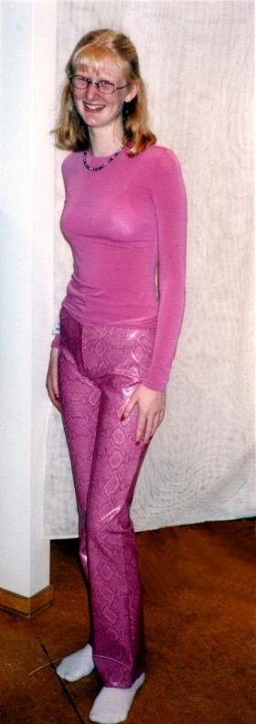 Jenni pink pants
